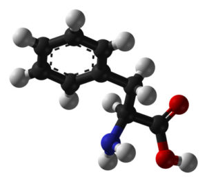 Phenylalanin Struktur
